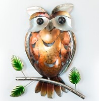 Metal Wall Art - Owl