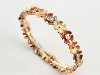 Bracelet - Rose Gold and Orange