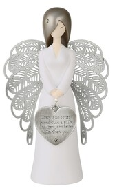 Angel Figurine - There is no better Friend than a Sister