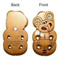 Kauri Fridge Magnet - Tiki