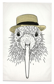 Tea Towel - Pen Pals Kiwi