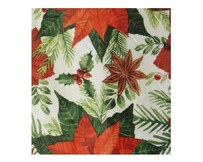 Christmas Poinsettia Napkins