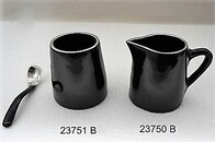 Aluminium Milk Pot and Sugar Pot - Black