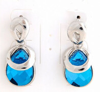 Earrings - Chloe Sapphire Earrings