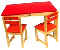 Boss Table and Chair Set / Red