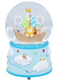 Baby Musical Snow Globe / Blue