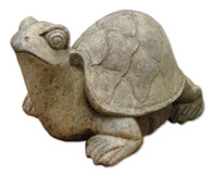 Garden Ornament - Concrete Turtle (big shell)