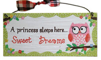 A Princess Sleeps Here... Sign