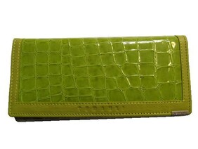 Genuine Leather Wallet / Green