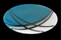 Cre8tive Glass - Life Series - Teal - Bowl