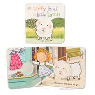 Finger Puppet Book - Mary Had A Little Lamb
