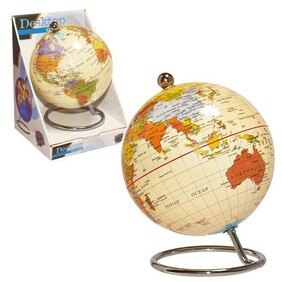 Antique Desk Globe 10cm
