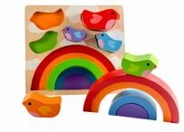 Kiddie Connect -Bird & Rainbow Puzzle