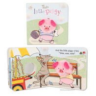 Finger Puppet Book - This Little Piggy