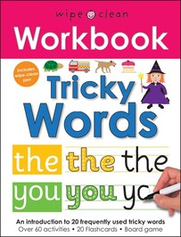 Wipe Clean Workbook - Tricky Words