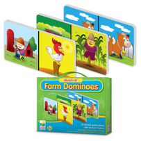 Match It - Farm Dominoes