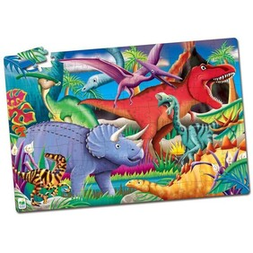 Giant Floor Puzzle - Glow in the Dark Dinos