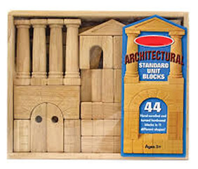 Building Blocks 44pc - Large Architectural