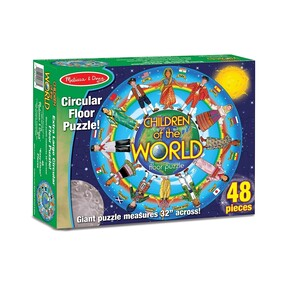 Melissa & Doug - Children of the World Floor Puzzle