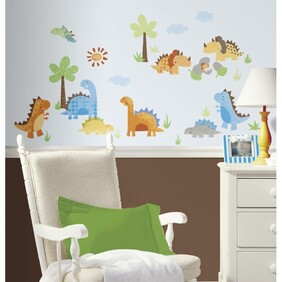RoomMates Peel and Stick Wall Decals / Babysaurus