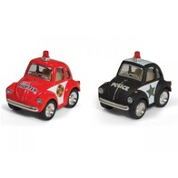Little Beetle Pull Back Police & Fire Rescue