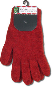 Gloves - Koru Plain Gloves / Red
