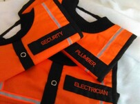 NZ Made Baby Bib / Electrician