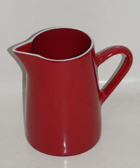 Aluminium Jug Medium - Red