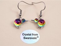 Earrings - Crystal Kiwi
