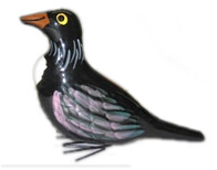 NZ Made Ceramic Bird - Tui