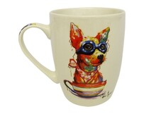 Animal Art Cup / Mug - Aviator Dog