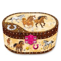 Jewellery Box - Musical Horse