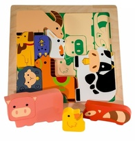 Kiddie Connect - Chunky Farm Animals