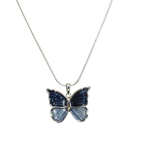 Necklace - Blue Butterfly