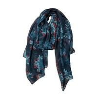 NZ Fashion Scarf - Evergreen Pohutukawa