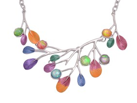 Necklace - Colourful Branch