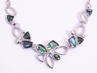 Necklace - Paua & Silver
