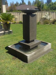 Olympic Torch Water Feature 80cm x 140cm