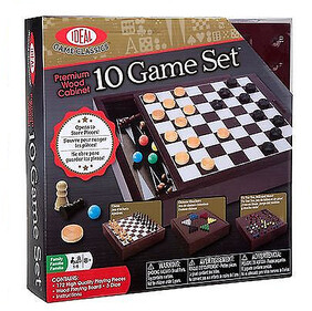 Ideals Games / Premium Wood Box: 10 Game Set