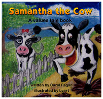 Samantha the Cow by Carol Fagan