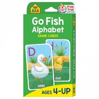 School Zone Flash Cards - Go Fish Alphabet