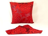 Cushion - Double Sided Vienna Red