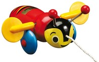 Kiwiana Icon / Buzzy Bee (wooden)