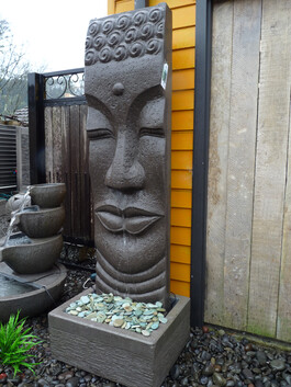 Buddha Water Feature 60cm x 180cm
