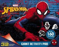 Giant Activity Pad - Spiderman