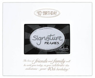 Signature Frame / 40th Birthday