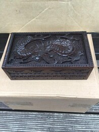 Jewellery Box - Dragon Jewellery Box - 20cm x 10cm
