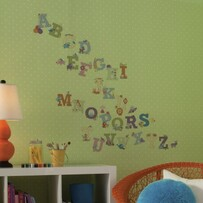 RoomMates Peel and Stick Wall Decals / Animal Alphabet