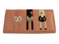 Pink Pussycat Wallet - Large