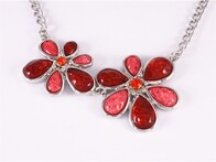 Necklace - Red Flower